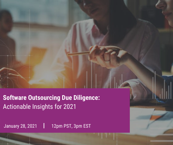 Software Outsourcing Due Diligence_ Actionable Insights for 2021